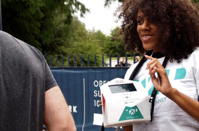 Charities tap up contactless payments technology