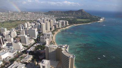 Waikiki Coast Line, Hawaii